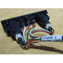 HP 224998-001 в Тольятти, кнопка включения питания HP 224998-001 с кабелем для сервера HP ML370 G4 (Тольятти)