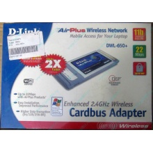 Wi-Fi адаптер D-Link AirPlus DWL-G650+ для ноутбука (Тольятти)
